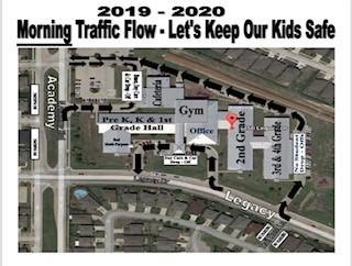 Morning Traffic Map