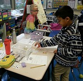 2nd Graders Investigate Solids and Liquids