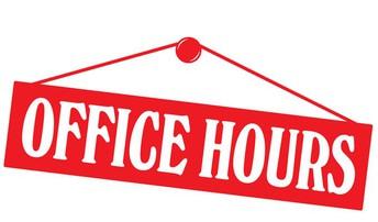 School Office Hours during Christmas Break