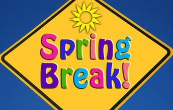 2019 Spring Break!