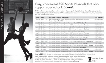 Sports Physical Requirements