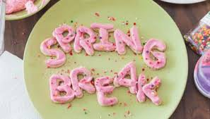Have a safe and happy SPRING BREAK- March 9-13