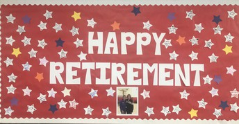 Congratulations Mrs. Dunlap...enjoy your retirement...we will miss you!