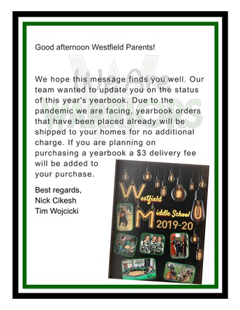 Yearbook Orders - Updated on 4-17-2020