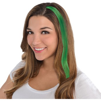 Green Hair Extensions