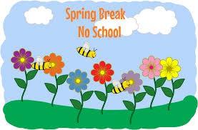 Spring Break - March 18th - March 21st