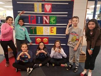 Scotch 5th Graders: Pine Tree Reading Ambassadors!