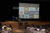 Cyberbulling Assembly - District Attorney Matt Weintraub presents to 9th Grade Students