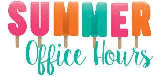 SUMMER GERTIE BELLE ROGERS OFFICE HOURS