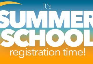 Summer School Sign Up is Open