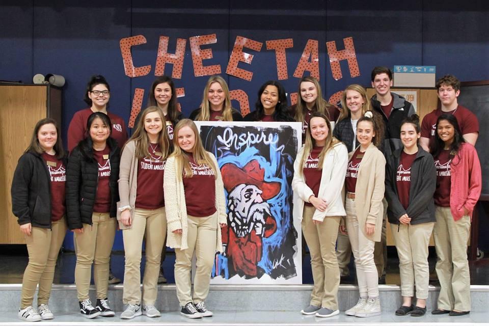 HCHS Student Ambassadors Recently Visit Elementary Schools