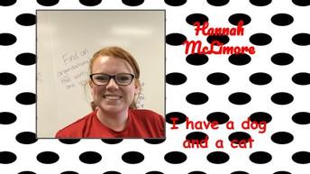 Hannah McLimore