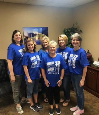 Central Office Wearing Eastside Tshirts Friday