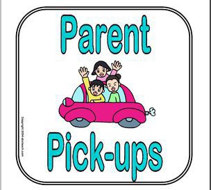 New Procedure for Parent Pick Up