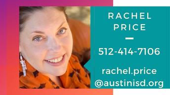 Rachel Price-7th grade Counselor