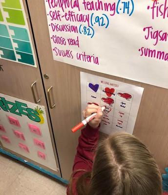 Students are Loving Hattie's Strategies