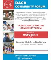 DACA Community Forum