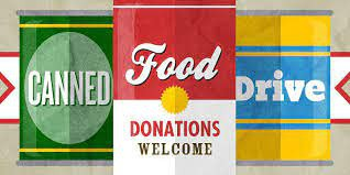 Drive-Through Canned Food Drive