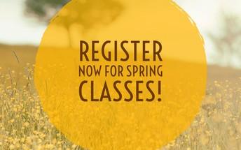 Spring Classes begin