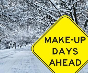 Snow Make up Day information