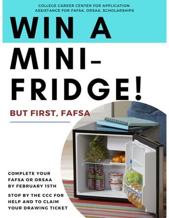 FASFA Mini-Fridge Drawing for Seniors
