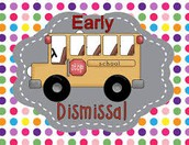 2:00 Dismissal on Friday