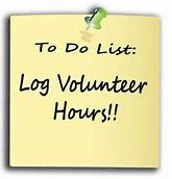 Checking and Submitting Volunteer Hours