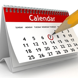 Calendar Reminders and Specifics for 2018-2019