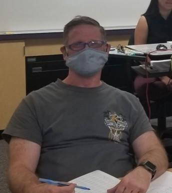ROP Forensics Teacher, Mr. Carlson