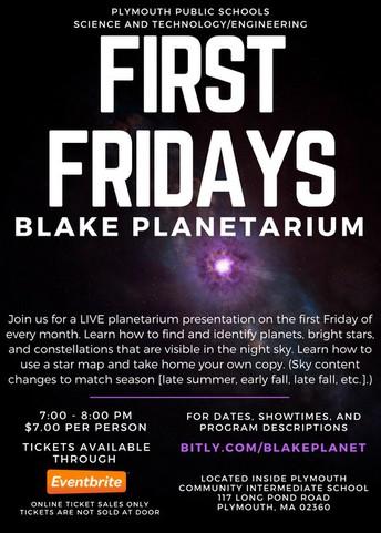 Blake Planetarium Events