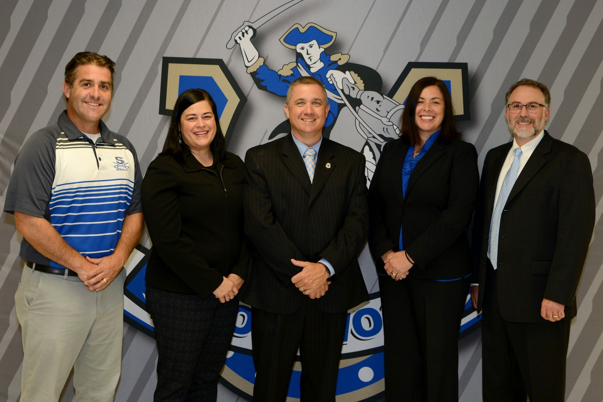 Photo of the SHS administration staff.