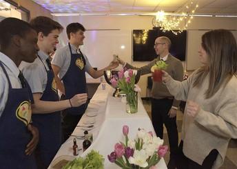 Bartenders serving Mocktails at the Speakeasy