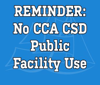 No Public Use of CCA Facilities