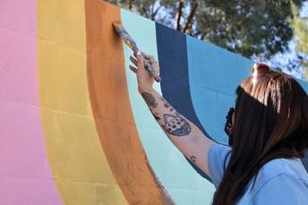 New Murals at Pomerado ES