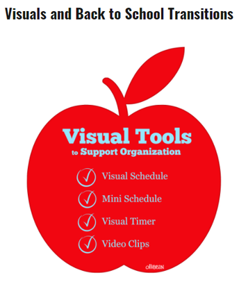 Visuals and Back to School Transitions