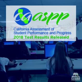 Los estudiantes de CVUSD superan los niveles de rendimiento del condado y del estado en los resultados de la prueba CAASPP 2018