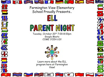 For Parents of Students in ELL