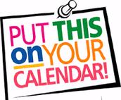 Final Exam Review - Mark your calendar!