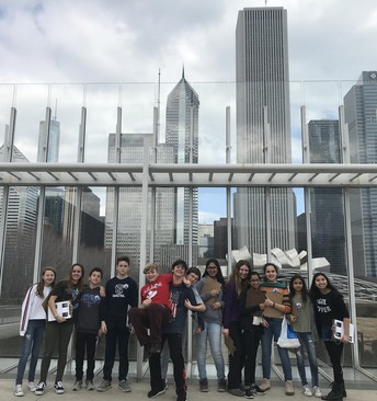 7th Graders Visit Art Institute of Chicago