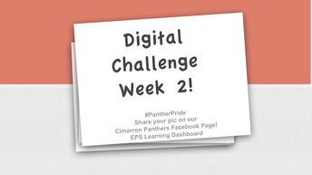 Take the Digital Challenge Week #2