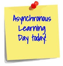 April 14 is a WCPSS Asynchronous Day