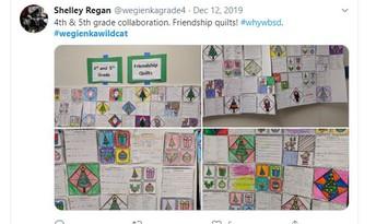 Mrs. Regan uses Twitter!
