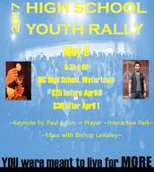 High School Youth Rally: May 6