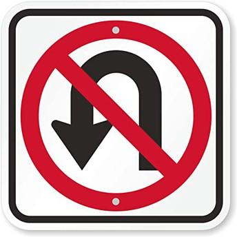 No illegal U-Turns