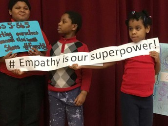 Empathy was our focus- Check out our #hashtags.