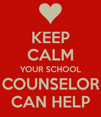 A note from our counselors...