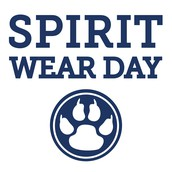 Friday Spirit Wear Days!