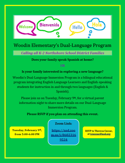Woodin Elementary's Dual-Language program