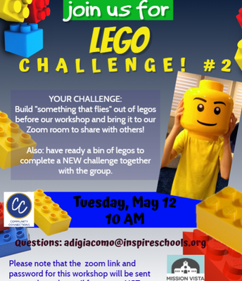 VIRTUAL Community Connections LEGO CHALLENGE #2