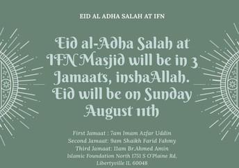 Eid-Ul-Adha 2019